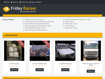 Friday Bazaar